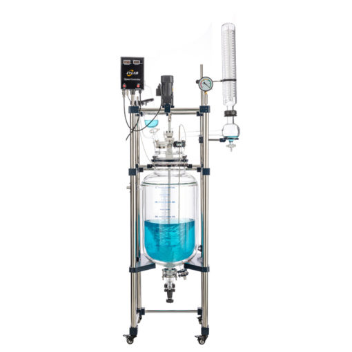 10-50L Dual Jacketed Glass Reactors